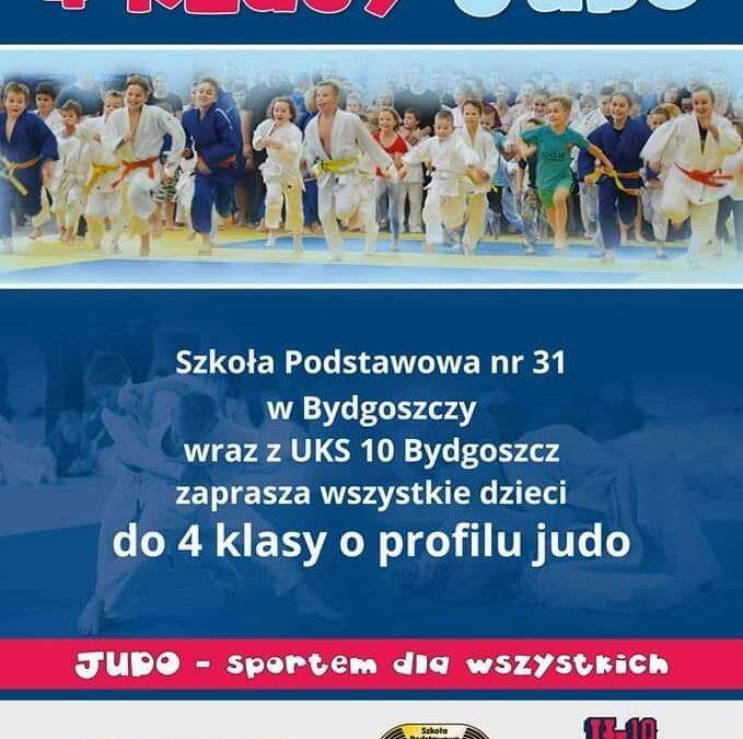 Nabory do 4 klasy o profilu judo